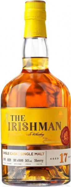 """Виски """"The Irishman"""" 17 Years Old Single Malt, 0.7 л"""