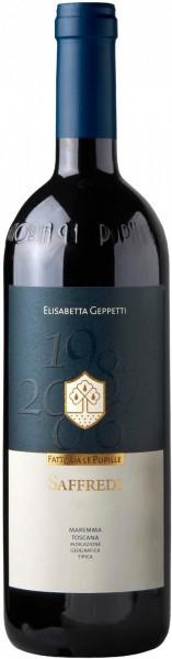"Вино Fattoria Le Pupille, ""Saffredi"", Toscana Maremma IGT, 2008, 0.375 л"