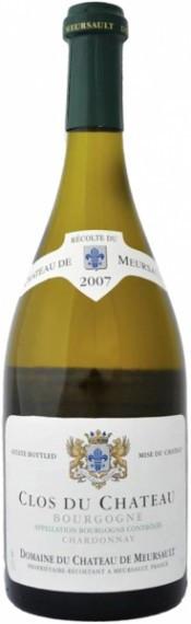 Вино Chateau de Meursault, Clos du Chateau, Bourgogne AOC 2007