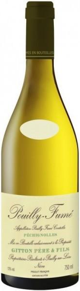 "Вино Gitton Pere & Fils, ""Pechignolles"", Pouilly-Fume AOC, 2013"