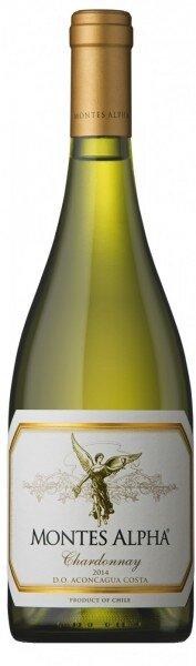 "Вино ""Montes Alpha"" Chardonnay, 2014"