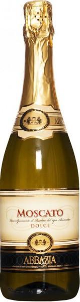 """Игристое вино """"Abbazia"""" Moscato Spumante"""