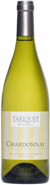 Вино Domaine du Tariquet, Chardonnay, Cotes de Gascogne VDP, 2014