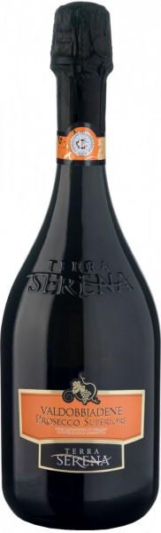 """Игристое вино """"Terra Serena"""" Valdobbiadene Prosecco Superiore DOCG Spumante Extra Dry"""