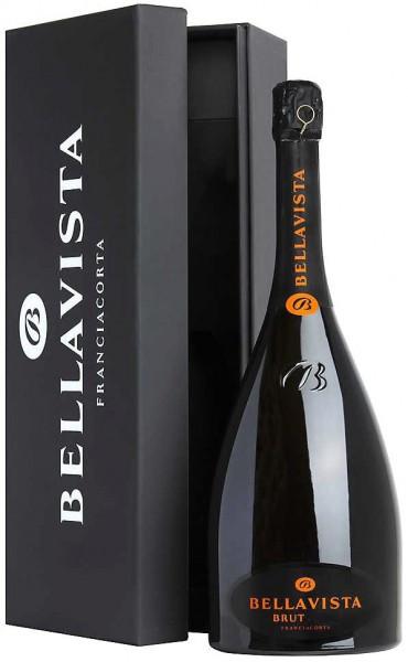 Игристое вино Bellavista, Franciacorta Brut, 2010, gift box