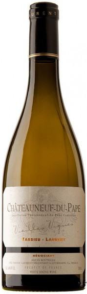 """Вино Tardieu-Laurent, Chateauneuf-du-Pape """"Vieilles Vignes"""" Blanc AOC, 2006"""