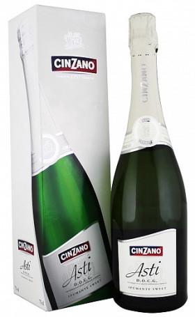 Асти Asti Cinzano gift box 0.75л
