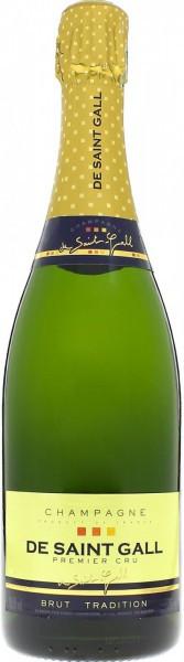 Шампанское De Saint Gall, Brut Tradition Premier Cru
