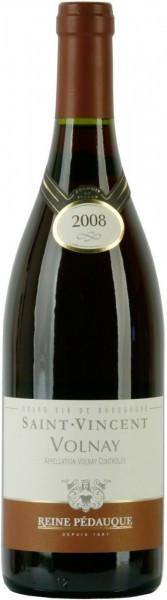 "Вино Reine Pedauque, ""Saint Vincent"" Volnay AOC, 2010"