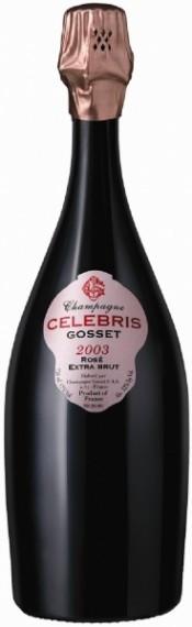 Шампанское Gosset Celebris Rose Extra Brut 2003