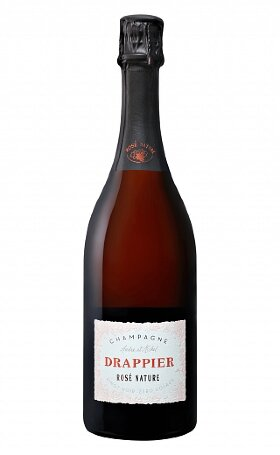 Шампанское Drappier Brut Nature Zero Dosage Rose 0.75л