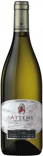 Вино Attems, Pinot Grigio, Collio DOC, 2009