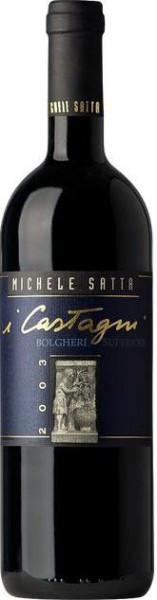"""Вино Michele Satta, """"I Castagni"""", Bolgheri Rosso Superiore DOC, 2003"""