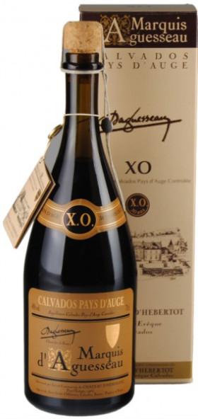 "Кальвадос ""Marquis d'Aguesseau"" XO, 30 Ans, gift box, 0.7 л"