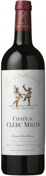 Вино Chateau Clerc Milon Grand Cru Classe (Pauillac) AOC, 2001