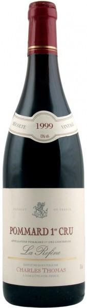 "Вино Domaine Charles Thomas, Pommard Premier Cru ""La Refene"", 1999"