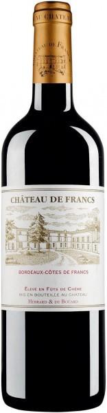 Вино Chateau de Francs, Bordeaux-Cotes de Francs, 2012