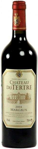 Вино Chateau du Tertre Margaux AOC Grand Cru, 2004, 0.375 л