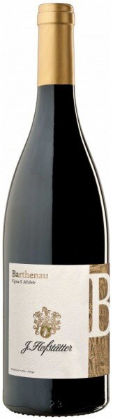 "Вино ""Barthenau"", Vigna S.Michele, Alto Adige DOC, 2012"