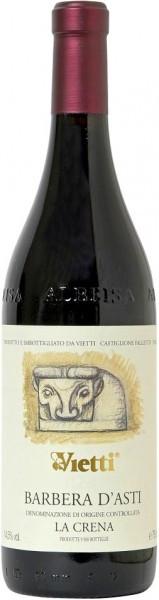 """Вино Vietti, Barbera d'Asti """"La Crena"""" DOC, 2004"""