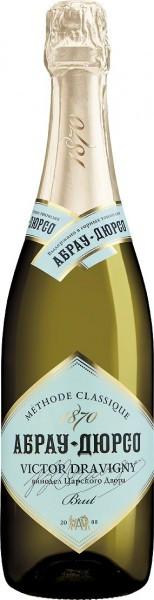 "Игристое вино Abrau-Durso, ""Victor Dravigny"" Brut, 0.375 л"
