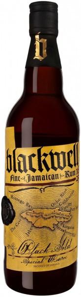 """Ром """"Blackwell"""" Black Gold, Special Reserve Fine Rum, Jamaica, 0.7 л"""