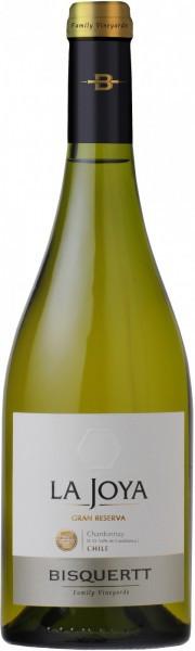 "Вино Bisquertt, ""La Joya"" Gran Reserva Chardonnay, Colchagua Valley DO, 2014"