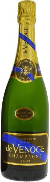 """Шампанское Champagne de Venoge, """"Cordon Bleu"""" Millesime, 2002"""