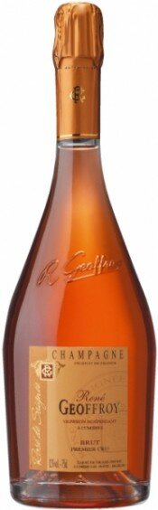 Шампанское Rene Geoffroy Champagne 1-er cru Rose de Saignee