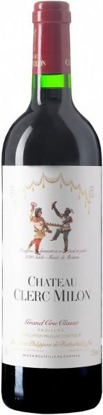 Вино Chateau Clerc Milon Grand Cru Classe (Pauillac) AOC, 1993