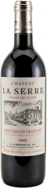 Вино Chateau La Serre (Saint –Emilion) Grand Cru Classe AOC, 2002