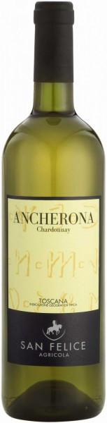 "Вино ""Ancherona"" Chardonnay, Toscana IGT, 2012"
