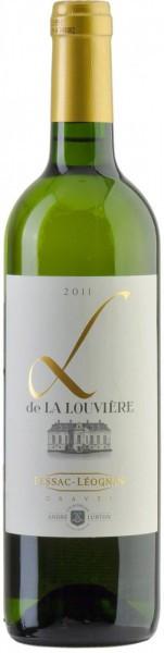"""Вино Andre Lurton, """"L De La Louviere"""" Blanc, 2011"""