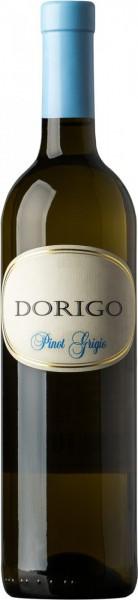 Вино Dorigo, Pinot Grigio, Colli Orientali del Friuli DOC, 2014