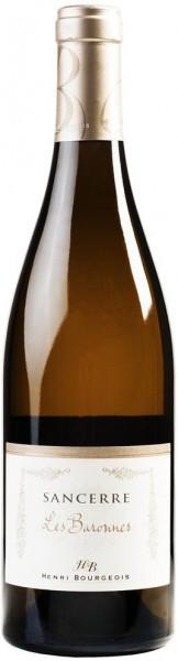 "Вино Sancerre AOC ""Les Baronnes"" Blanc, 2016, 1.5 л"
