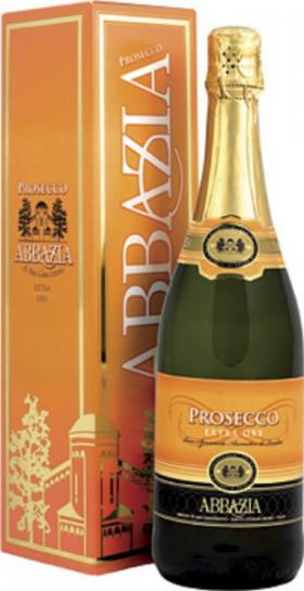 """Игристое вино """"Abbazia"""" Prosecco Spumante DOC, gift box"""