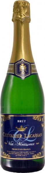 """Игристое вино """"Chevalier Lacassan"""" Vins Mousseux Brut"""