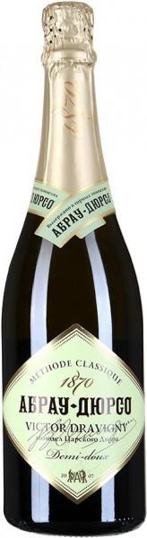 """Игристое вино Abrau-Durso, """"Victor Dravigny"""" Demi-doux"""
