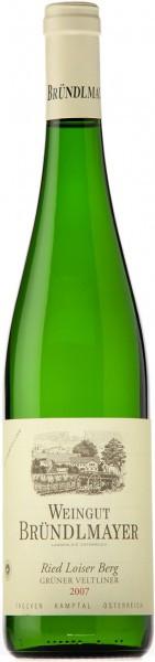 Вино Weingut Brundlmayer, Gruner Veltliner Ried Loiser Berg 2007