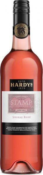 "Вино Hardys, ""Stamp"" Shiraz Rose, 2011"