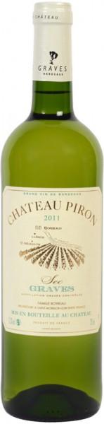 Вино Chateau Piron Blanc, 2011