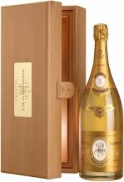 Шампанское Cristal AOC 2009, wooden box, 1.5 л