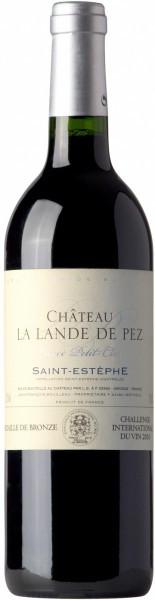 "Вино Chateau Lalande de Pez, ""Cuvee Petit-Clos"", Saint Estephe AOC, 2010"