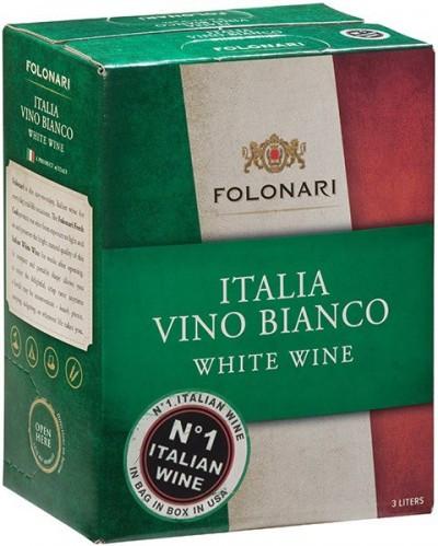 Вино Folonari, Italia Vino Bianco, 3 л