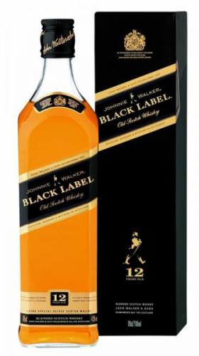 """Виски """"Black Label"""", 0.5 л"""