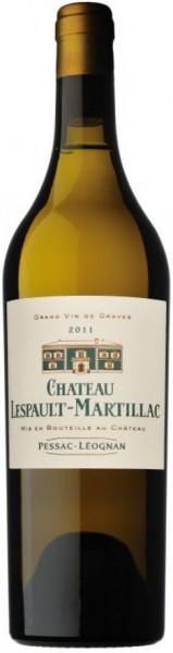 "Вино ""Chateau Lespault-Martillac"" Blanc, Pessac-Leognan AOC, 2011"