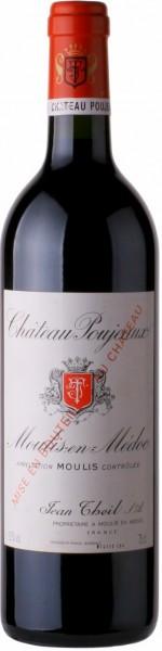 Вино Chateau Poujeaux, Moulis-en-Medoc AOC Cru Bourgeois, 2012