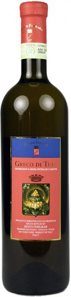 Вино Benito Ferrara, Greco di Tufo DOCG, 2006