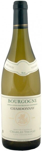Вино Charles Thomas, Bourgogne Chardonnay AOC, 2013