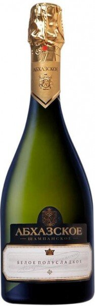 "Игристое вино ""Abkhazian Champagne"" White Semi-sweet"